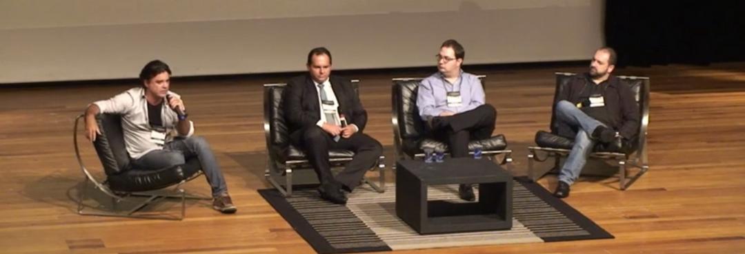 Investidores Anjos respondem perguntas na Conferência da Anjos do Brasil- 2015